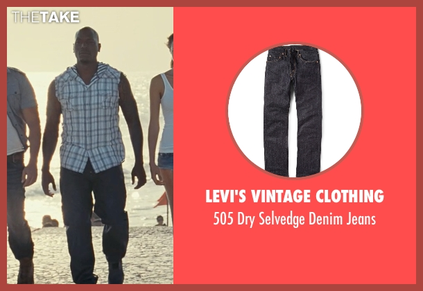 Levi's Vintage Clothing blue jeans from Fast Five seen with Tyrese Gibson (Roman Pearce)