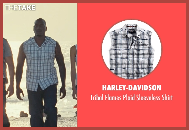 Harley-Davidson shirt from Fast Five seen with Tyrese Gibson (Roman Pearce)