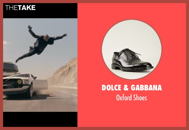 Dolce & Gabbana black shoes from Fast & Furious 6 seen with Tyrese Gibson (Roman Pearce)