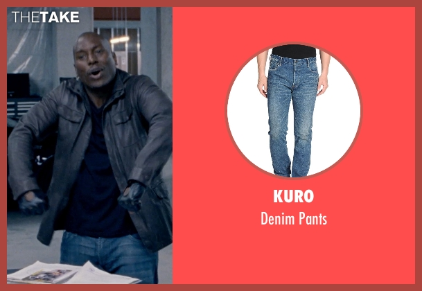 Kuro blue pants from Fast & Furious 6 seen with Tyrese Gibson (Roman Pearce)