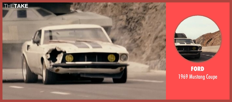 Ford coupe from Fast & Furious 6 seen with Tyrese Gibson (Roman Pearce)