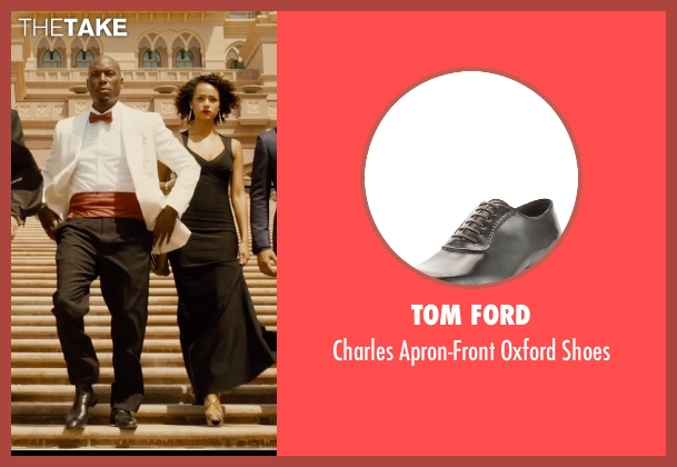 Tom Ford black shoes from Furious 7 seen with Tyrese Gibson (Roman Pearce)