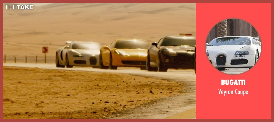 Bugatti coupe from Furious 7 seen with Tyrese Gibson (Roman Pearce)