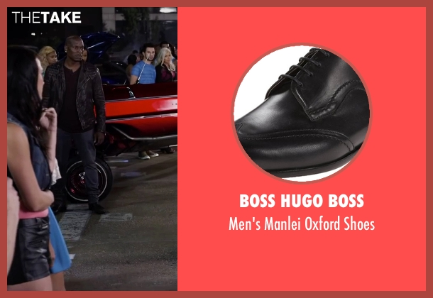 Boss Hugo Boss black shoes from Ride Along 2 seen with Tyrese Gibson (D.J)