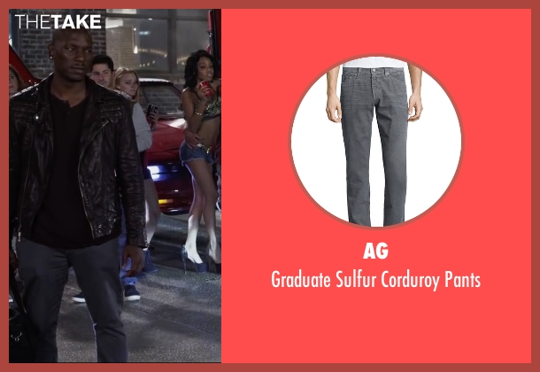 AG gray pants from Ride Along 2 seen with Tyrese Gibson (D.J)