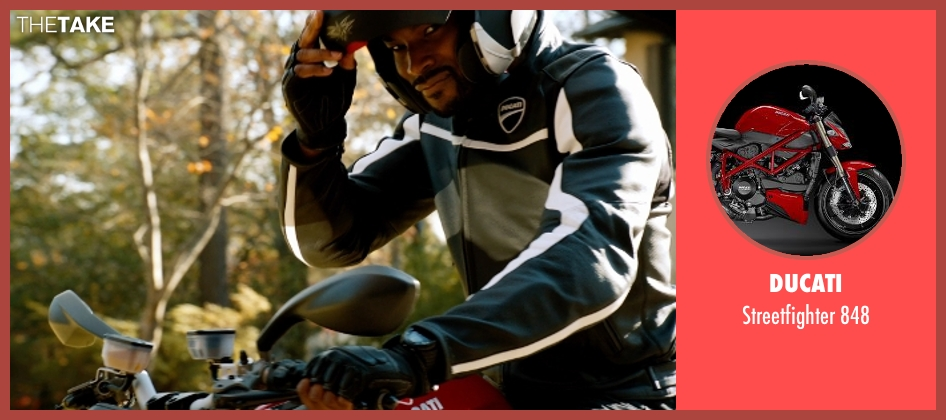 Ducati 848 from Addicted seen with Tyson Beckford (Corey)