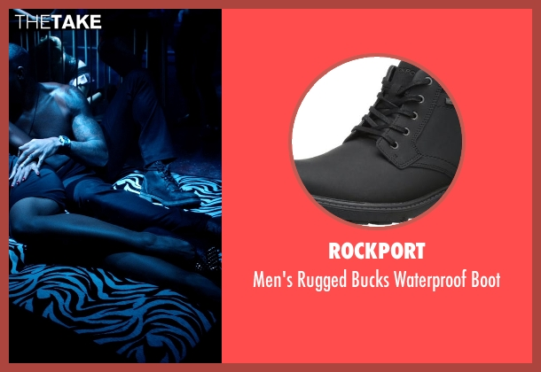 Rockport black boot from Addicted seen with Tyson Beckford (Corey)