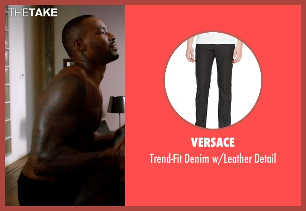 Versace black detail from Addicted seen with Tyson Beckford (Corey)