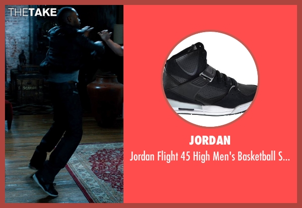 Jordan black shoes from Addicted seen with Tyson Beckford (Corey)