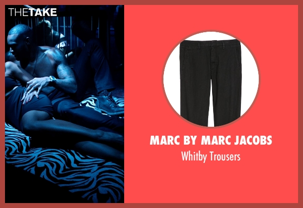 Marc by Marc Jacobs black trousers from Addicted seen with Tyson Beckford (Corey)