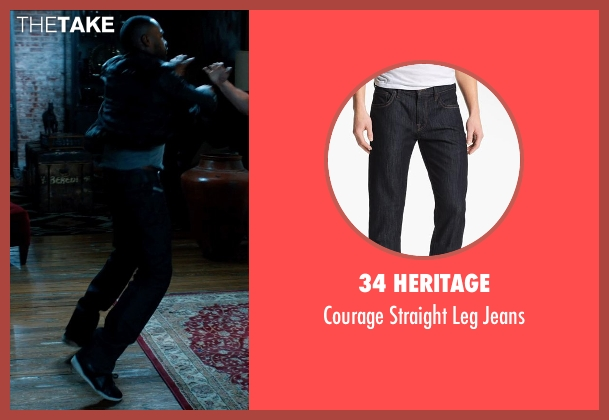 34 Heritage blue jeans from Addicted seen with Tyson Beckford (Corey)