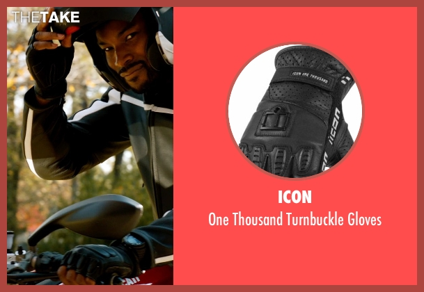 Icon gloves from Addicted seen with Tyson Beckford (Corey)