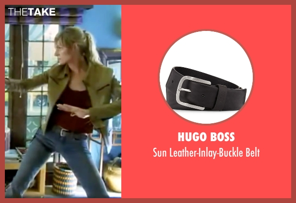 Hugo Boss black belt from Kill Bill: Vol. 1 seen with Uma Thurman (The Bride)