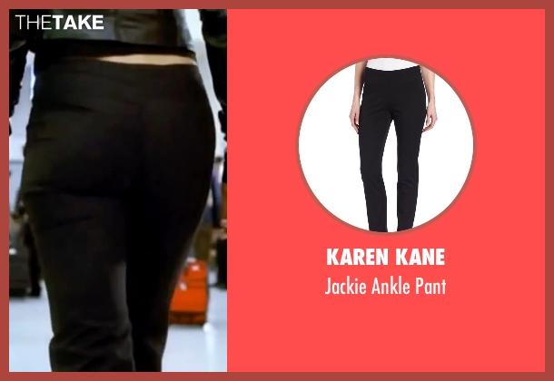 Karen Kane black pant from Kill Bill: Vol. 1 seen with Uma Thurman (The Bride)