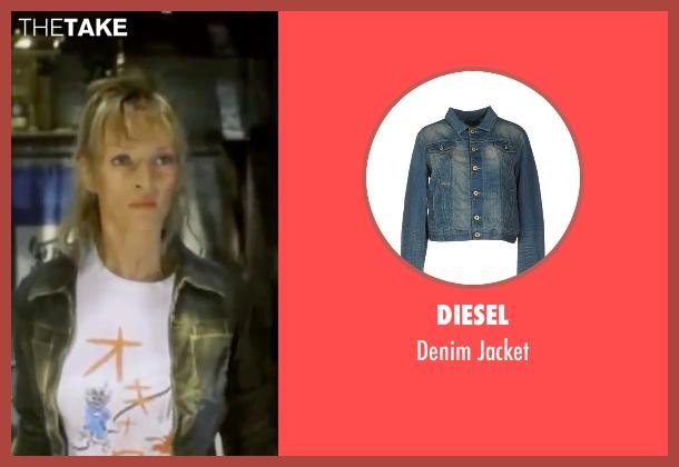 Diesel blue jacket from Kill Bill: Vol. 1 seen with Uma Thurman (The Bride)