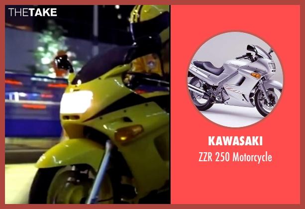 Kawasaki motorcycle from Kill Bill: Vol. 1 seen with Uma Thurman (The Bride)