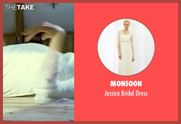 Monsoon white dress from Kill Bill: Vol. 1 seen with Uma Thurman (The Bride)