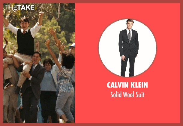Calvin Klein black suit from (500) Days of Summer seen with Unknown Actor (Unknown Character)