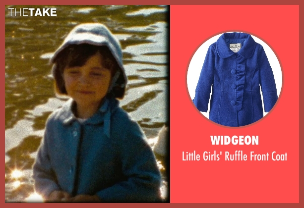 Widgeon blue coat from (500) Days of Summer seen with Unknown Actor (Young Summer)