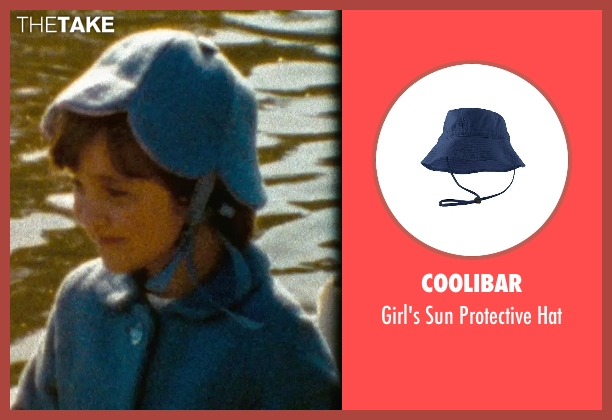 Coolibar blue hat from (500) Days of Summer seen with Unknown Actor (Young Summer)