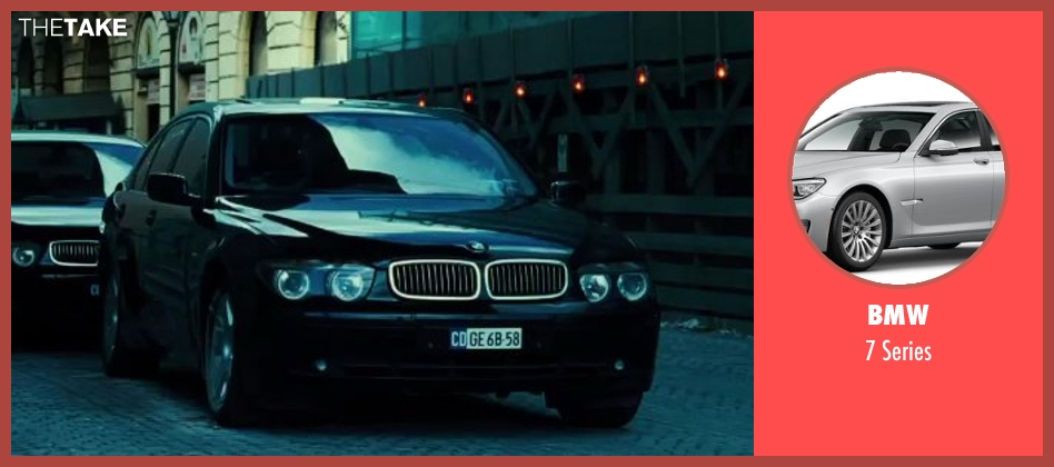 BMW series from A Good Day to Die Hard seen with Unknown Actor (Unknown Character)