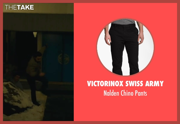 Victorinox Swiss Army black pants from A Most Violent Year seen with Unknown Actor (Unknown Character)