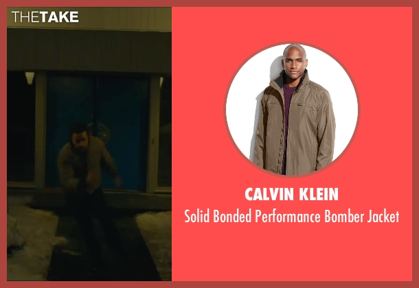 Calvin Klein brown jacket from A Most Violent Year seen with Unknown Actor (Unknown Character)