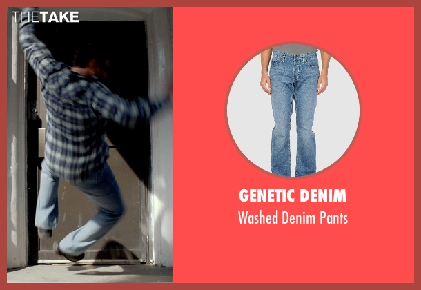 Genetic Denim blue pants from A Walk Among The Tombstones seen with Unknown Actor (Unknown Character)