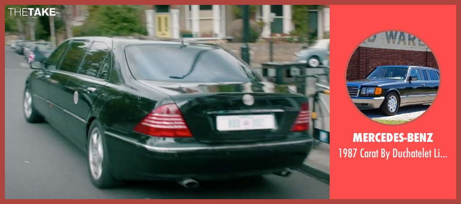 Mercedes-Benz limousine from Absolutely Anything seen with Unknown Actor (Unknown Character)