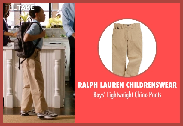 Ralph Lauren Childrenswear beige pants from Addicted seen with Unknown Actor (Unknown Character)