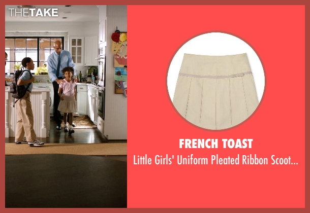 French Toast beige skirt from Addicted seen with Unknown Actor (Unknown Character)