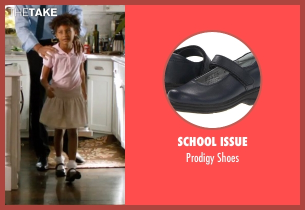 School Issue black shoes from Addicted seen with Unknown Actor (Unknown Character)