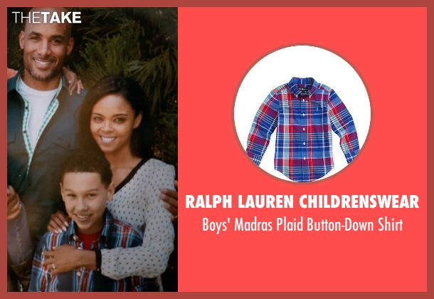 Ralph Lauren Childrenswear blue shirt from Addicted seen with Unknown Actor (Unknown Character)