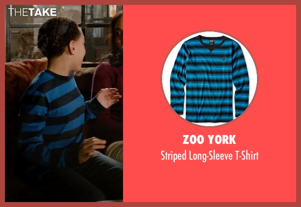 Zoo York blue t-shirt from Addicted seen with Unknown Actor (Unknown Character)