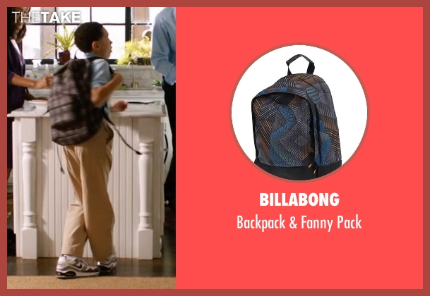 Billabong pack from Addicted seen with Unknown Actor (Unknown Character)