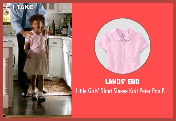 Lands' End pink shirt from Addicted seen with Unknown Actor (Unknown Character)