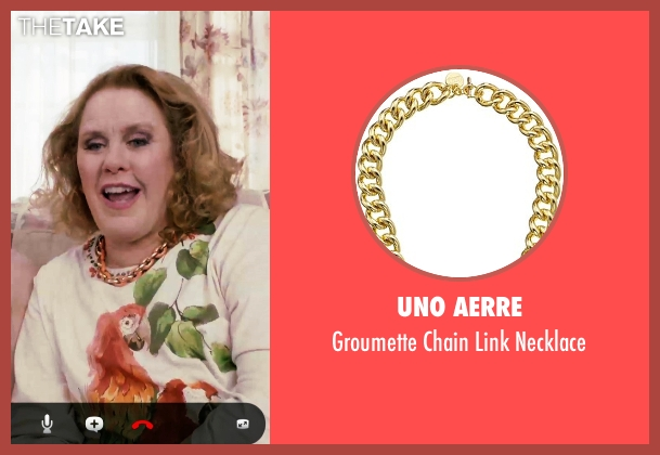 Uno Aerre necklace from Adult Beginners seen with Unknown Actor (Unknown Character)