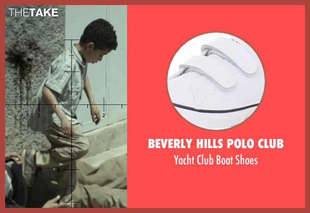 Beverly Hills Polo Club white shoes from American Sniper seen with Unknown Actor (Unknown Character)