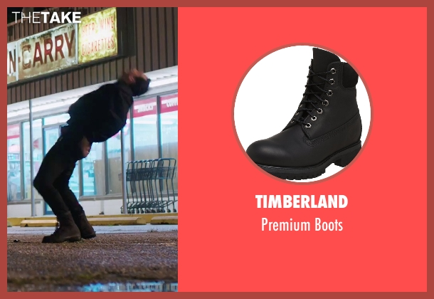 Timberland black boots from American Ultra seen with Unknown Actor (Unknown Character)
