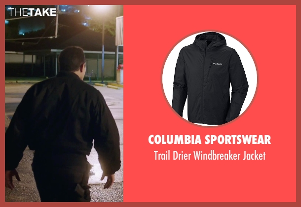 Columbia Sportswear black jacket from American Ultra seen with Unknown Actor (Unknown Character)