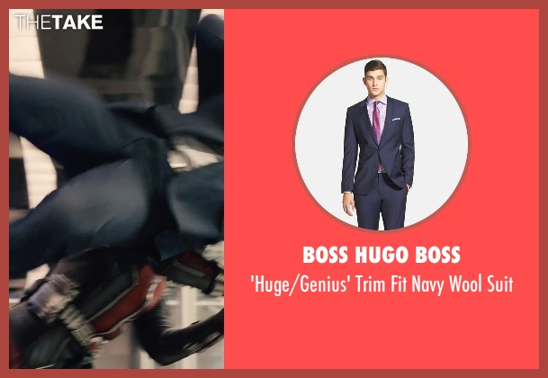 Boss Hugo Boss blue suit from Ant-Man seen with Unknown Actor (Unknown Character)