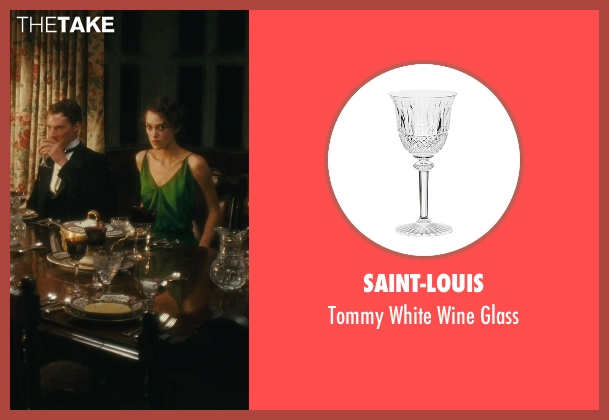 Saint-Louis glass from Atonement seen with Unknown Actor (Unknown Character)