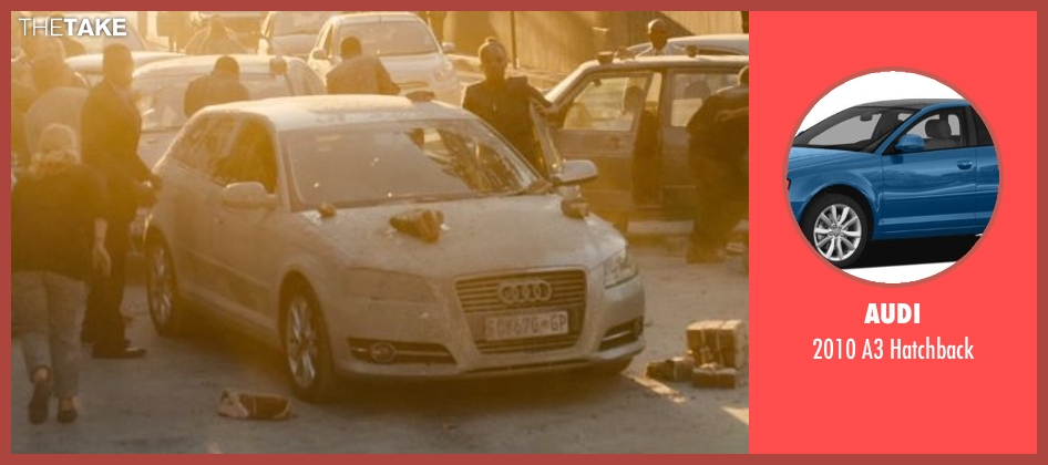 Audi hatchback from Avengers: Age of Ultron seen with Unknown Actor (Unknown Character)