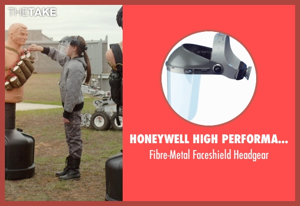 Honeywell High Performance headgear from Barely Lethal seen with Unknown Actor (Unknown Character)