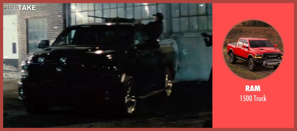 Ram truck from Batman v Superman: Dawn of Justice seen with Unknown Actor (Unknown Character)