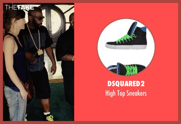 Dsquared2 black sneakers from Begin Again seen with Unknown Actor (Unknown Character)