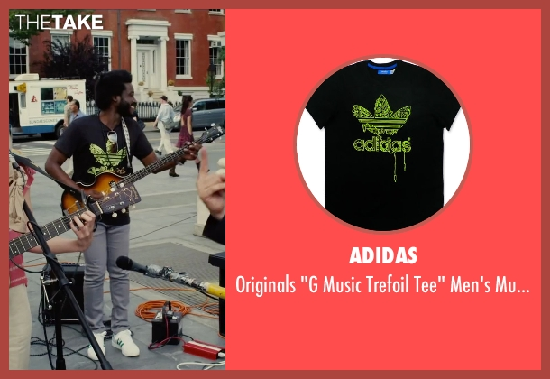 Adidas black t-shirt from Begin Again seen with Unknown Actor (Unknown Character)