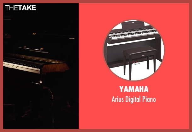Yamaha piano from Begin Again seen with Unknown Actor (Unknown Character)