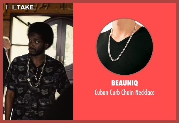 Beauniq silver necklace from Begin Again seen with Unknown Actor (Unknown Character)