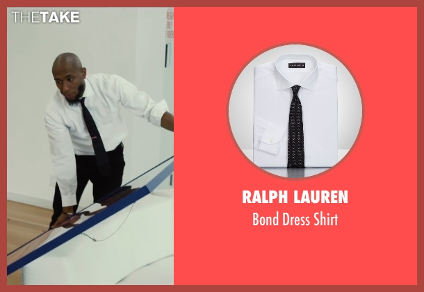 Ralph Lauren white shirt from Begin Again seen with Unknown Actor (Unknown Character)